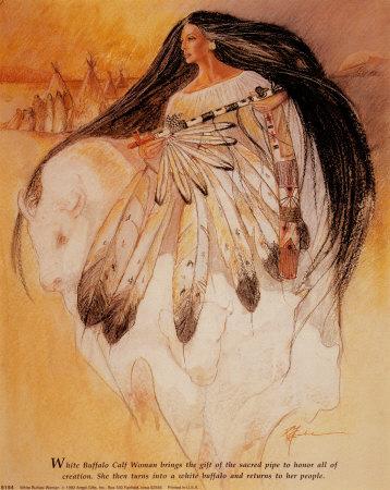 9154~White-Buffalo-Woman-Posters